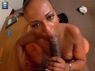 Slutty MILF black ass teacher gets fucked